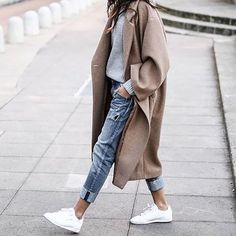 Trendy and comfy casual outfit. Trendy and comfy casual outfit. Trendy and comfy casual outfit. The post Trendy and comfy casual outfit. appeared first on New Ideas. Look Fashion, Winter Fashion, Womens Fashion, Fashion Trends, Fashion Coat, 90s Fashion, Korean Fashion, Fashion Ideas, Fashion Dresses