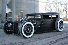1931 Ford rat rod sedan