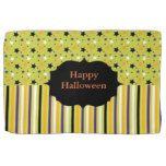 Halloween Colors Stars and Stripes Monogram Towel #halloween #happyhalloween #halloweenparty #halloweenmakeup #halloweencostume