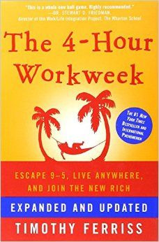 The Audio Book: The 4 Hour Work Week by Timothy Ferriss Social Media Online Traffic Offline Traffic Copywriting Sales Productivity Leadership & Management Fulfillment & Automation Grow Your Wealth Timothy Ferriss, Tim Ferriss, Good Books, Books To Read, My Books, This Is A Book, The Book, 4 Hour Work Week, Work Family