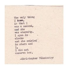 christopher poindexter quotes | Christopher Poindexter | Beautiful <3 quote