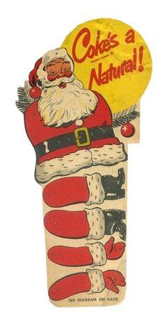 Vintage Paper Toys Jumping Jacks 56 New Ideas Vintage Coke, Vintage Santas, Vintage Cards, Coca Cola Christmas, Retro Christmas, Paper Puppets, Paper Toys, Social Media Trends, Vintage Playmates