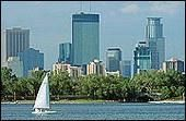 """Coming from the East Coast, I couldn't imagine not being close to the ocean. Now I can't believe we're walking distance from 3 of the gorgeous """"chain of lakes"""" that are among the 15,000 in MN. All 6 are surrounded by accessible paths and have a playground. Each has its own character. Lake Calhoun is the hot spot for beach bums and sailors. Lake Harriet is for finding serenity. Most lakes in MN have paddleboats and canoes for rent in Spring/Summer, and ice fishing and other Winter activites."""