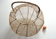Enormous French Handmade Antique Egg by #Vintagefrenchlinens #etsy #teamvam