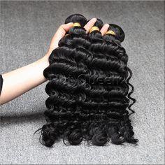 Brazilian Curly Virgin Hair 3Bundles Unprocessed Human Hair,Cheap Brazilian Deep Wave Curly Virgin Hair,Cheap Machine Hair Weft www.hotqueenhair.com