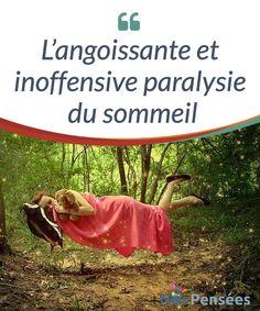 L'angoissante et inoffensive paralysie du sommeil   L'explication d'un #phénomène inoffensif qui peut nous arriver à tous en raison du stress et d'autres causes : la #paralysie du #sommeil.  #Psychologie