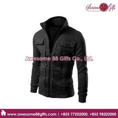 Leather Jacket Printing House in Phnom Penh Printed Polo Shirts, Phnom Penh, Cool Items, Cambodia, Motorcycle Jacket, Best Gifts, Printing, Leather Jacket, Awesome