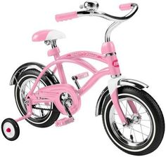 Radio Flyer Classic Pink 12 inch Cruiser - Free Shipping