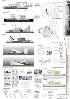 museum , and showroom Hysen Ciflku Concept Models Architecture, Architecture Concept Drawings, Architecture Presentation Board, Museum Architecture, Futuristic Architecture, Architecture Design, Architectural Presentation, Showroom Design, Mall Design