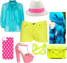 """""""neons"""" by onedirectionfangurl on Polyvore"""