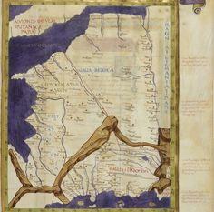 Claudius Ptolomaeus , Cosmographia , Jacobus Angelus interpres Auteur du texte: Claudius Ptolomaeus. Auteur : Jacobus Angelus. Traducteur 1451-1500