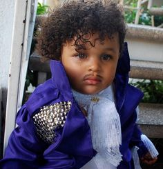 DIY Prince Halloween costume for babies - perfect!