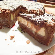 cheesecake cioccolato e caramello