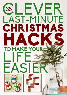38 Clever Christmas Hacks That Will Make Your Life Easier