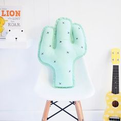 Our cactus cushion So prickly looking but made from 100% Merino wool felt making it soft and cuddly Shop the link in our bio and don't forget we have @afterpay.au #cactuscushion #boysroom #girlsroom #afterpay #mumswithhustle #interior444 #interior125 #interiordesign #interiorstyling #cactustheme