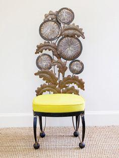 dandelion chair..dressing room slipper chair
