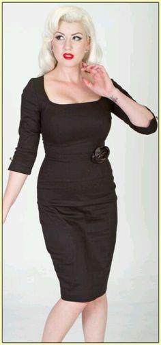 Lucky 13 Black Rose Dress
