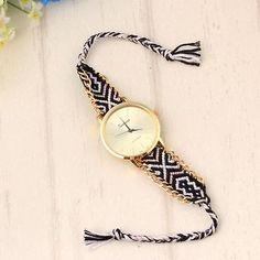 Colorful-Boho-Wristwatch-Hippie-Friendship-Cloth-Band-Unisex-Girl-Fashion-Watch