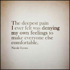 Feelings Denied