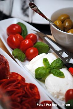 Few things are more simply wonderful than fresh tomatoes, basil and mozzarella