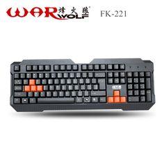 FK-221 Warwolf Computer Gaming Keyboard //Price: $30.42 & FREE Shipping //  #gamergirl #gaming #video #game #winning