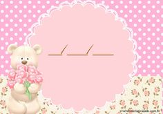 Kit Festa Ursa Princesa Gratis  #ursinharosa  #ursinhaprincesa  #festaursinhaprincesa  #festaursinha  #jardimdasursas  #festademenina  #festaursa  #personalizados  #personalizadosdeluxo  #ursaprincesa  #ursarosa  #chadebebemenina  #chadebebeursa  #chadebebeursinha Teddy Bear, Crafts, Anna, Baby Boy Shower, Party Kit, Creativity, Collage Ideas, Manualidades, Teddy Bears