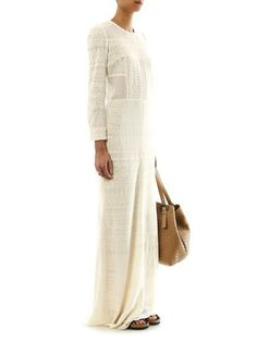 Isabel Marant Talma embroidered maxi dress