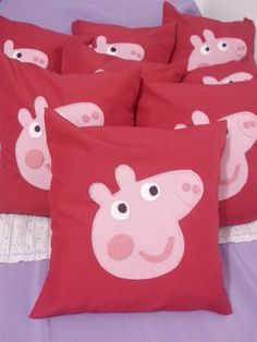 Souvenirs Peppa Pig (almohadones)