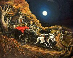 The Legend of Sleepy Hollow Headless Horseman Halloween Decor Original ...