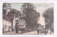 "Crowmarsh Wallingford ""Showing Public House"" Unposted Addressed & Message c1905 
