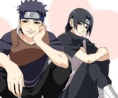 Shisui and Itachi Naruto Kakashi, Madara Uchiha, Sasunaru, Boruto, Anime Naruto, Kpop Anime, Naruto Boys, Naruto Teams, Naruto Cute