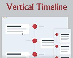 Responsive Vertical Timeline #CSS3 #timeline #responsive #jQuery #verticaltimeline #vertical