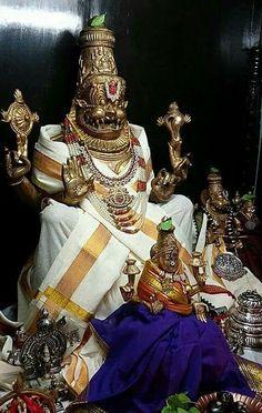 Narsimha with Lakshmi Jai Shree Krishna, Krishna Radha, Lord Sri Rama, Hanuman Wallpaper, Lord Vishnu Wallpapers, Lord Mahadev, Indian Gods, Gods And Goddesses