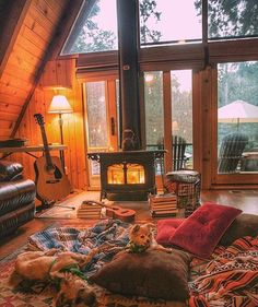 Hygge Furnishing Style: New Scandinavian Tendency . Hygge furnishing style: New Scandinavian trends – Living with classics A Frame Cabin, A Frame House, Cozy Cabin, Cozy House, Winter Cabin, Cosy Winter, Autumn Cozy, Autumn Fall, Cabin In The Woods