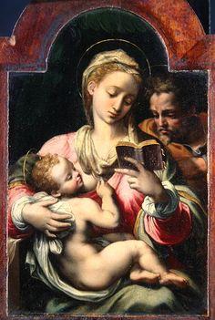 Religion News Service | Culture | Arts & Media | Christmas' missing icon: Mary breastfeeding Jesus