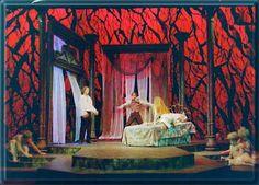 Dracula Set Design by Richard Finkelstein, Stage Designer