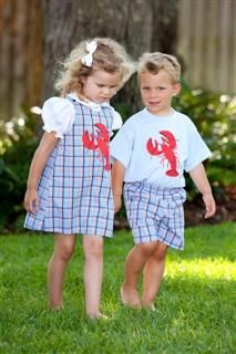 Southern Children Clothes matching outfits, kids day, dress, children clothes, lobster, kid outfits, children clothing, vineyard vines, kid clothing
