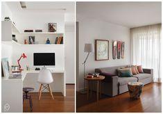 Tudo integrado: sala, cozinha e home office!