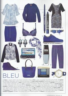 Couleurs Pop! Bleu - Tristan x2 - Coup de Pouce April 2015 Issue