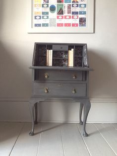 SOLD  Bureau  vintage writing desk using by ConstanceInteriors, £195.00