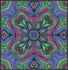 Digital Quilt by Carla Barrett