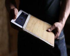 Wool Felt Bamboo iPad Sleeve1 pic on Design You Trust