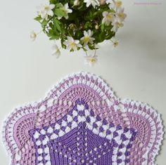 Lace Doilies, Crochet Doilies, Crochet Lace, Crochet Braids, Diy And Crafts, Crochet Earrings, Stitch, Blanket, Pattern