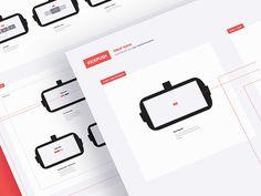Virtual reality interface - UX Blueprint by Alex Deruette #Design Popular #Dribbble #shots
