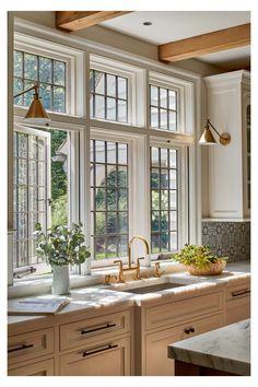 Home Decor Kitchen, Interior Design Kitchen, Home Kitchens, Country Interior Design, Country Kitchen Designs, Dream Home Design, My Dream Home, House Design, Küchen Design