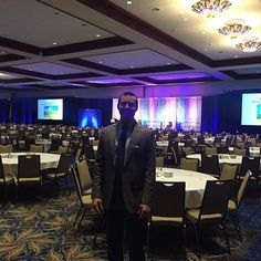 All set up to kick off the National Business Aviation Association conference in Tampa. ✈️ 2500 attendees from around the world -  wish me luck