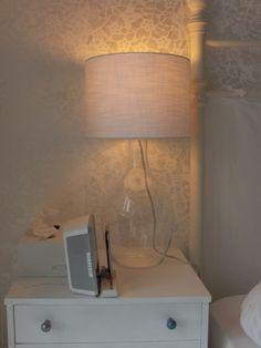 heim-elich: Glas Nachtischlampen