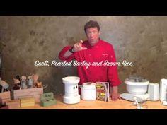 Chef Brad talks about his WonderFlour, a whole grain all-purpose flour.