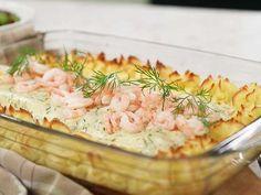 Zeina, Swedish Recipes, Fish Dishes, Chutney, Fish Recipes, Pasta Salad, Potato Salad, Potatoes, Lunch