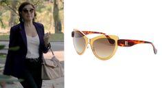 Durante um episódio da novela Império, a personagem Maria Marta, interpretada pela atriz Lilia Cabral, usou o modelo 0001 da grife Balenciaga. O sucesso foi imediato! #oculos #de #sol #colorido #oticas #wanny #sunglasses